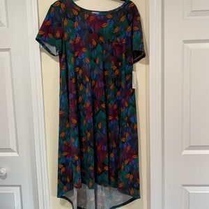 NWT large flowy Carly dress by LuLaRoe
